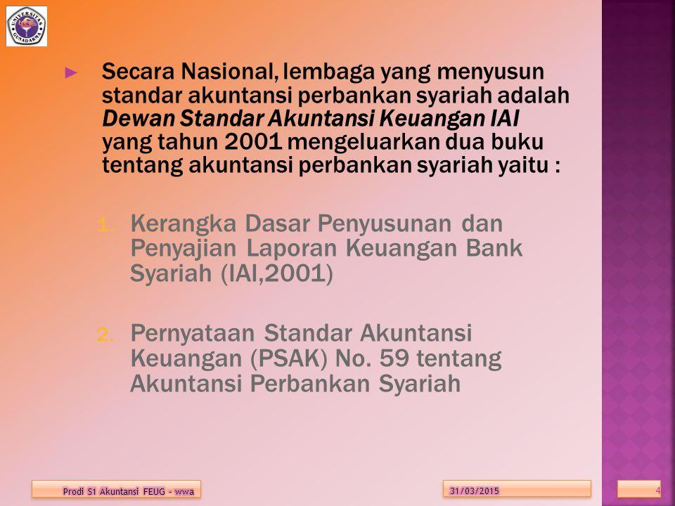 TUJUAN AKUNTANSI BANK SYARIAH 1.Menentukan hak dan kewajiban pihak yang terkait 2.