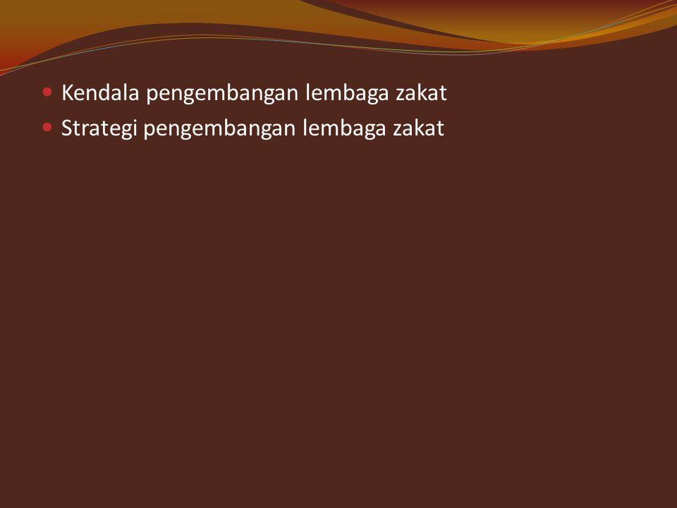 2. Komisi pengawas BAZ Fungsinya : Tugas pokok: 3. Badan pelaksan Fungsi tugas pokok