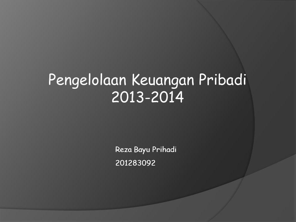 A.Pemasukan 1.Bulan September 2013 Gaji Rp. 6.500.000,00 2.
