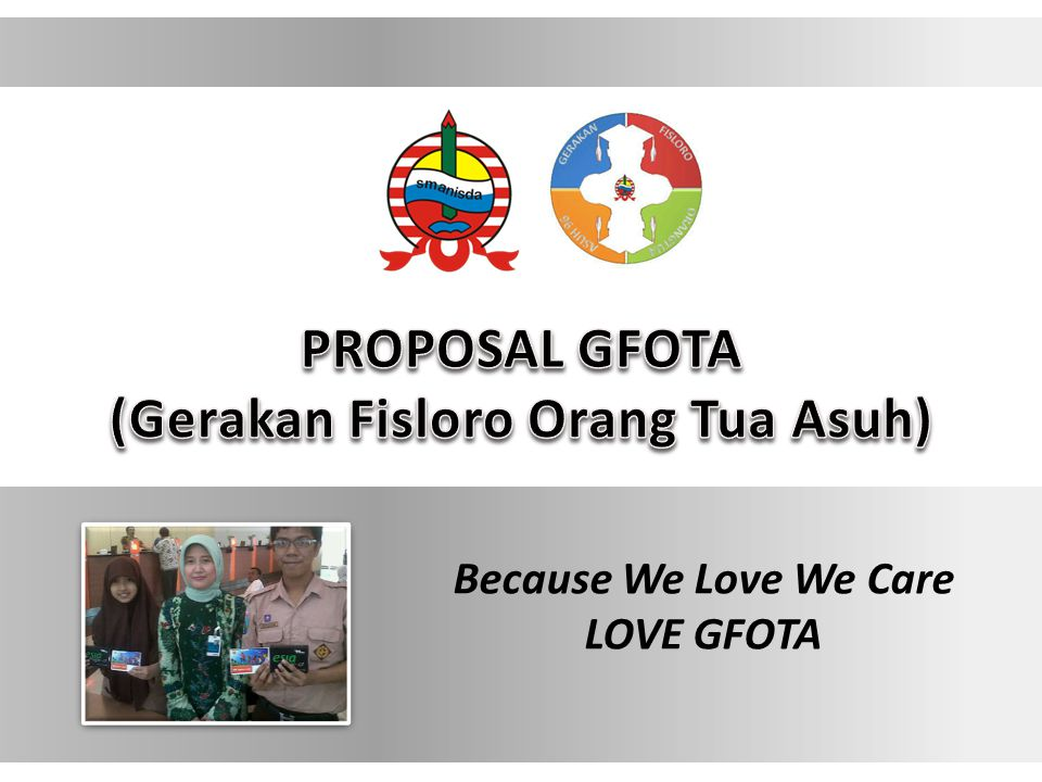 Because We Love We Care LOVE GFOTA