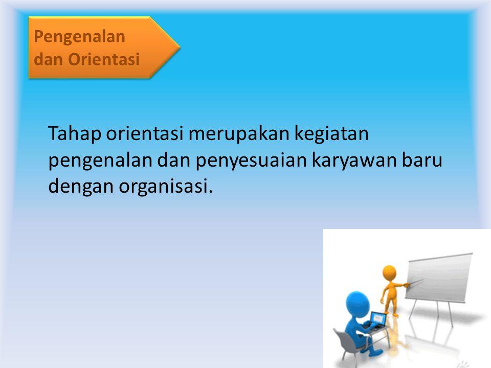 Pemilihan tenaga kerja potensial untuk menduduki suatu jabatan tertentu dari lamaran yang masuk.