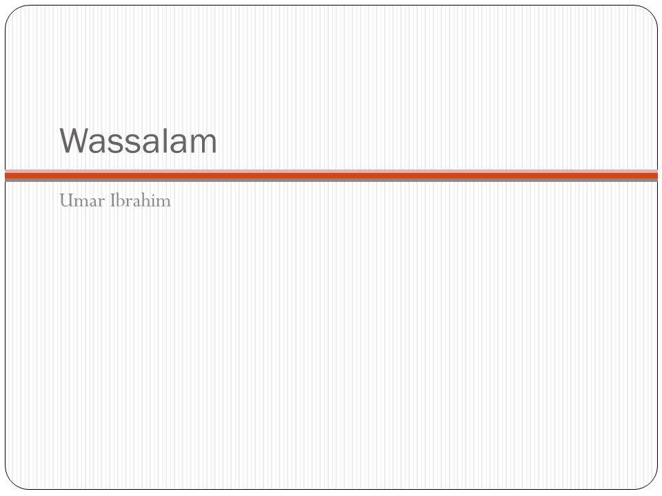 Wassalam Umar Ibrahim