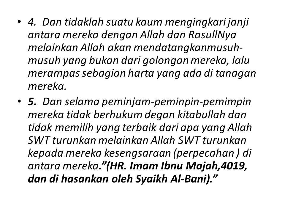 Hikmah dari Musibah : Musibah Adalah Penghapus Dosa Tidaklah seorang muslim tertimpa suatu penyakit dan sejenisnya, melainkan Allah akan mengugurkan bersamanya dosa-dosanya seperti pohon yang mengugurkan daun-daunnya .(HR.