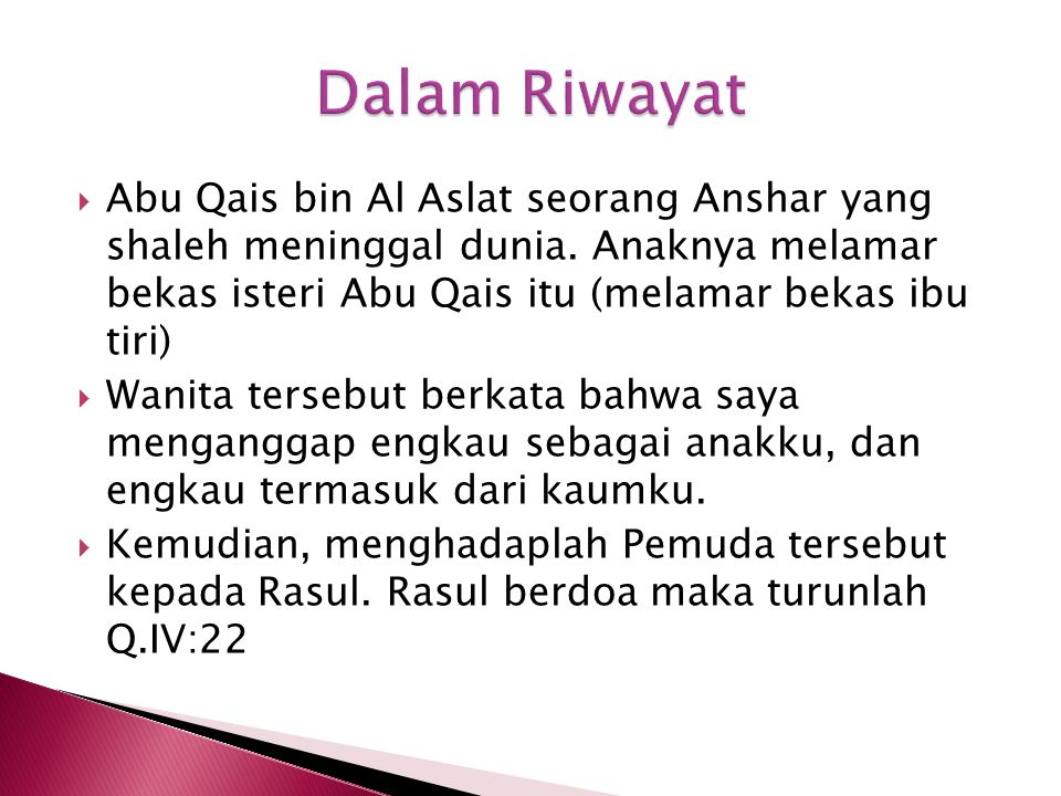  Abu Qais bin Al Aslat seorang Anshar yang shaleh meninggal dunia.