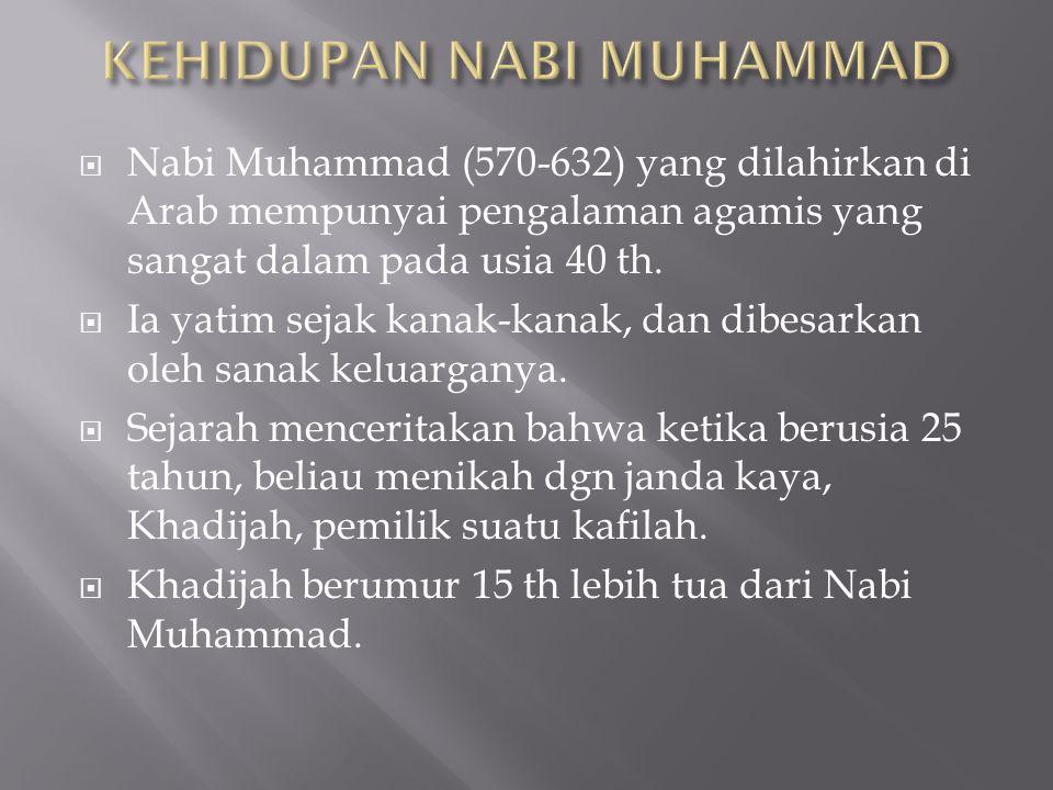  Selama 10 th ia berdakwah menyampaikan misi agama dan perbaikan sosial di Makkah.