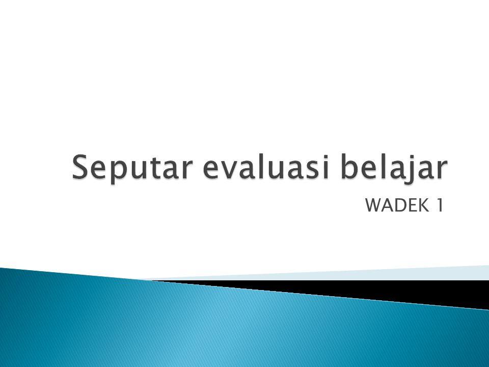 WADEK 1