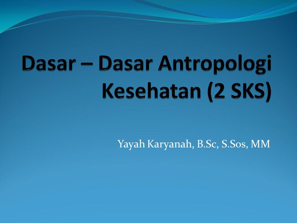 Yayah Karyanah, B.Sc, S.Sos, MM