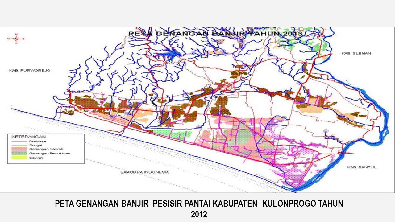 PETA GENANGAN BANJIR PROGO-OPAK-SERANG KALA ULANG BANJIR 10 TAHUNAN Sumber : Bcom-south Java Flood Control (Model)