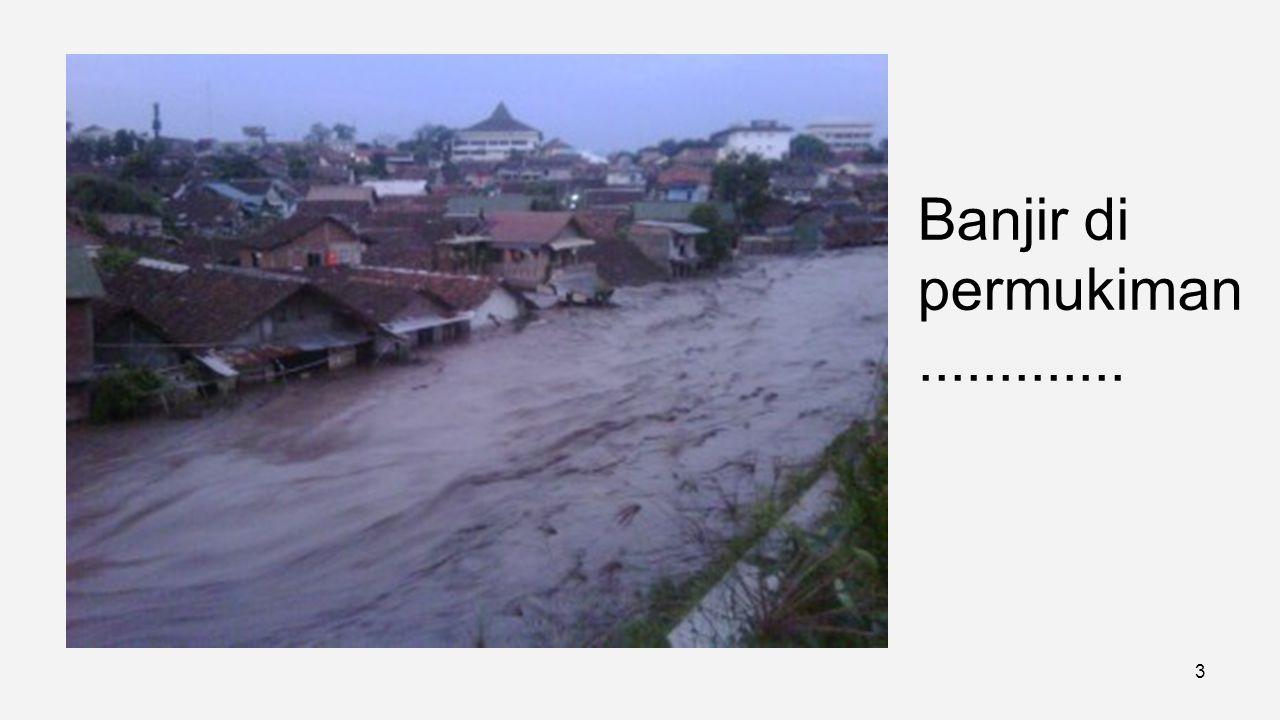 Banjir di jalan perkotaan..... 2