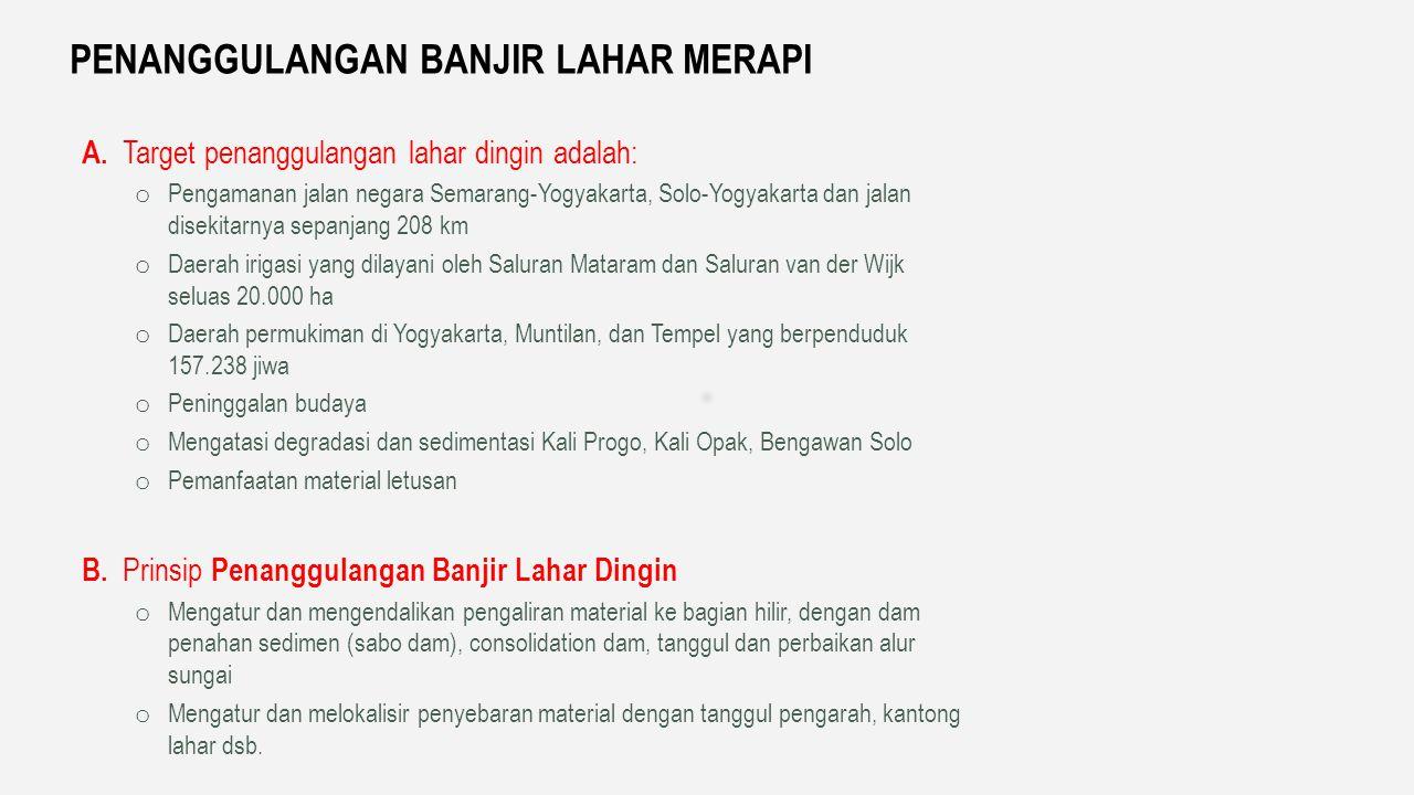 Rehabilitasi tanggul kanan kiri S. Serang (36 km) Penanganan muara S.Serang Normalisasi K.Peni Sudetan K. Peni ke S.Serang dan ke Samudera Indonesia P