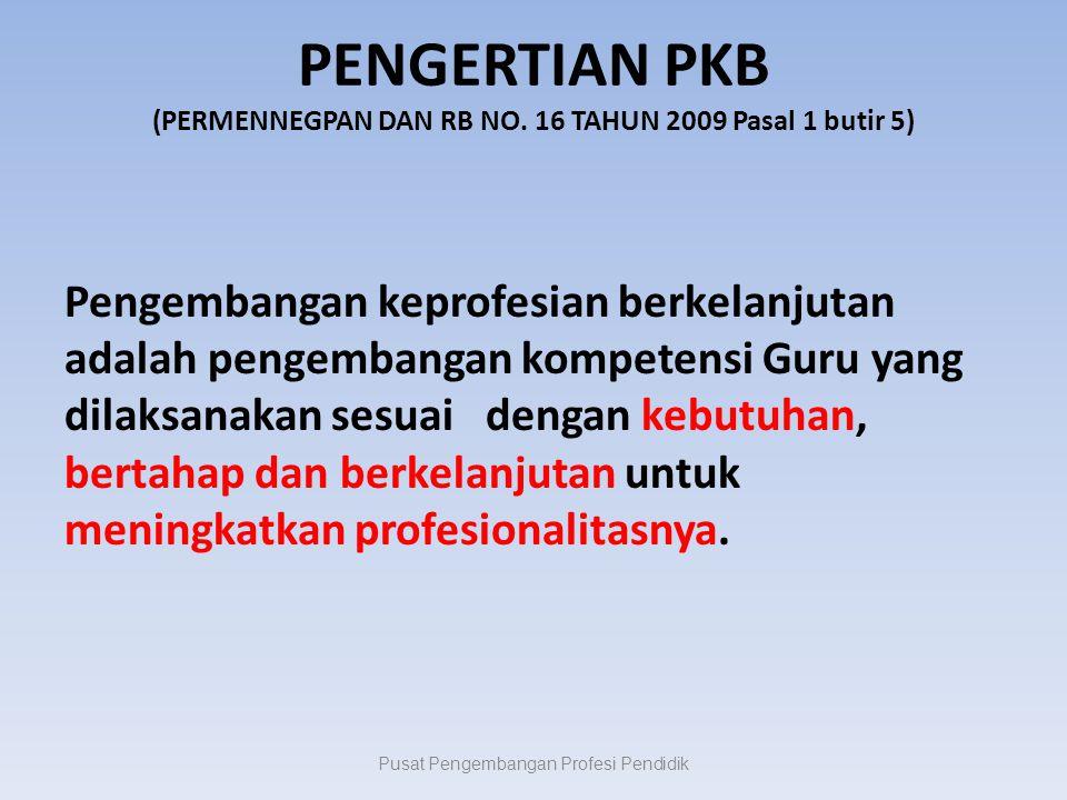 PENGERTIAN PKB (PERMENNEGPAN DAN RB NO.
