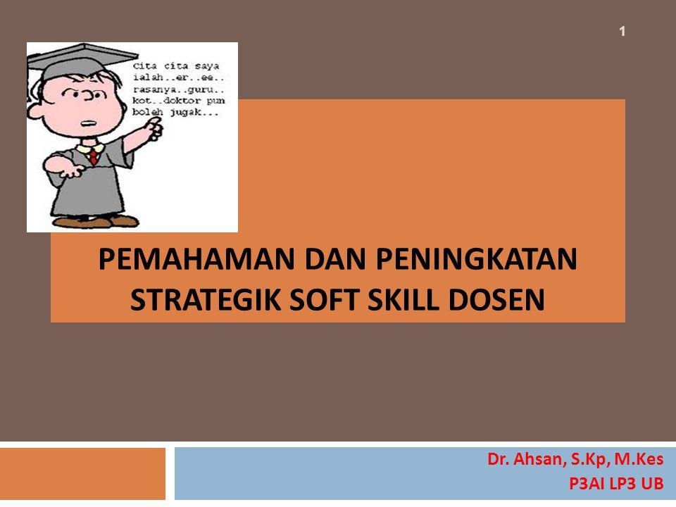 7 Area Soft Skills : Winning Characteristics* * Menurut Patrick O'Brien dalam bukunya Making College Count Silakan klik di tulisan 31 AA-21-23 Okt 2014 LP3 UB