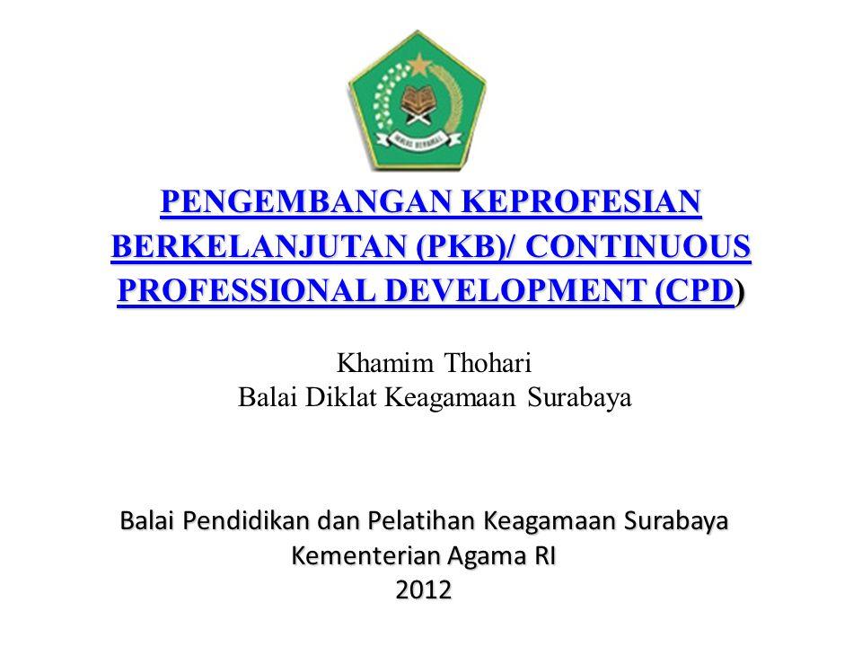 PENGEMBANGAN KEPROFESIAN BERKELANJUTAN (PKB)/ CONTINUOUS PROFESSIONAL DEVELOPMENT (CPDPENGEMBANGAN KEPROFESIAN BERKELANJUTAN (PKB)/ CONTINUOUS PROFESS