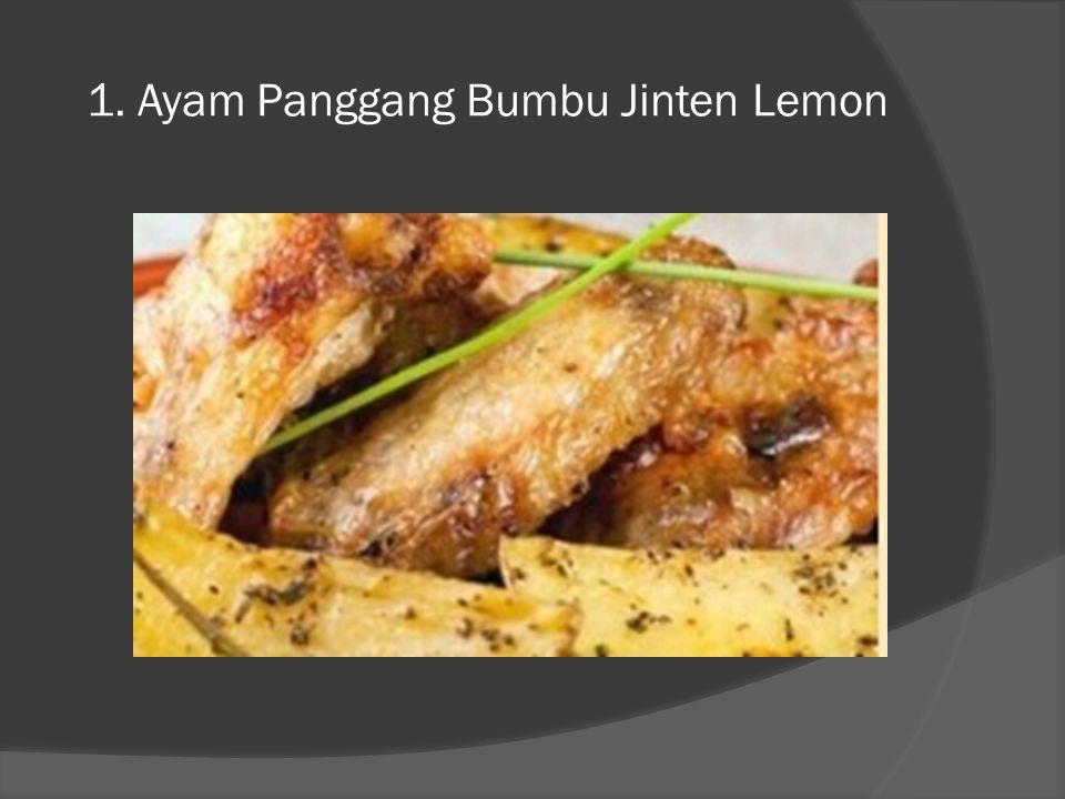 1. Ayam Panggang Bumbu Jinten Lemon