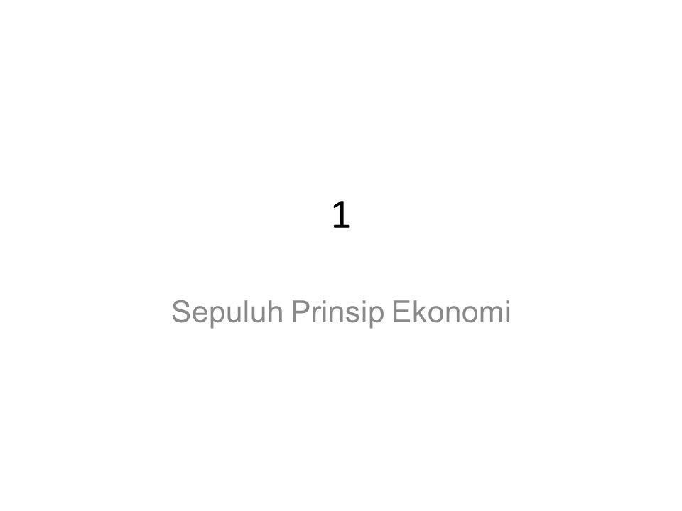 Prinsip #8: Standar hidup tergantung dari produksi suatu negara.