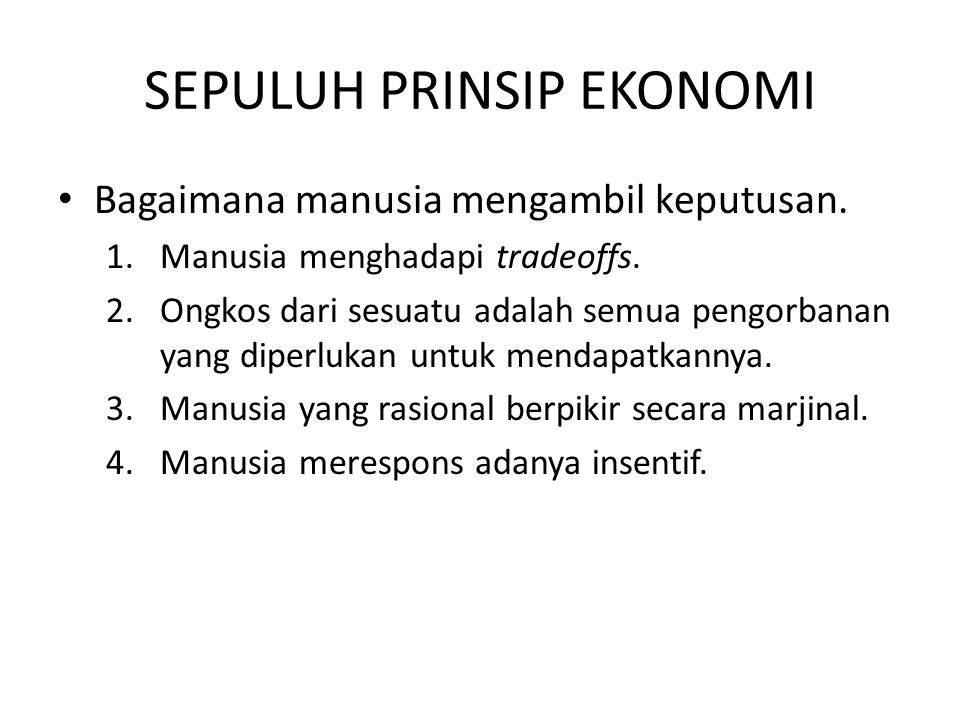 Summary Produktitas adalah sumber utama dari standar hidup.