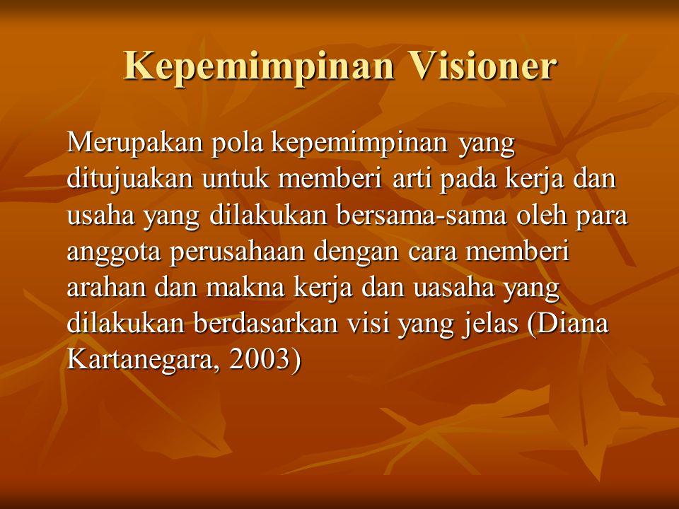 Kompetensi Pemimpin Visioner 1.