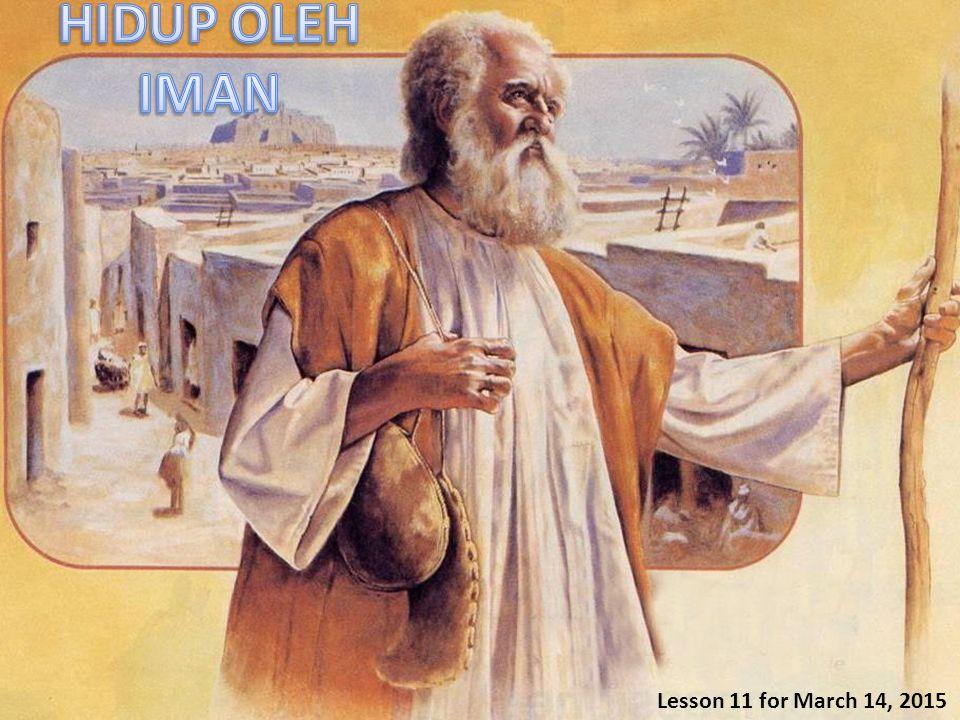 1.HIDUP OLEH IMAN: 1.Memelihara hukum.Amsal 28:4, 7, 9.
