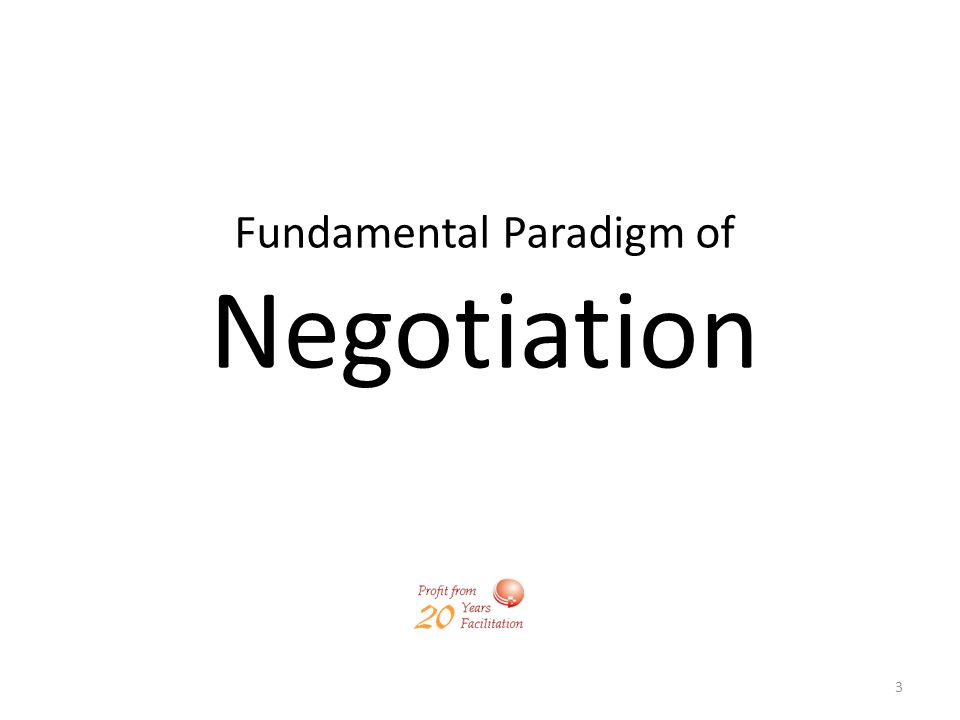 14 The First Commandment: Sell First, and then Negotiate (but if only you have to) The Second Commandment: Never Concede, always Trade POWER PERSUASION BARGAINING