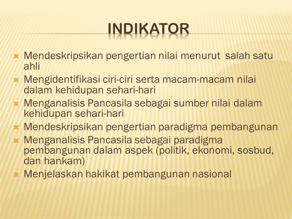 3. Persatuan Indonesia