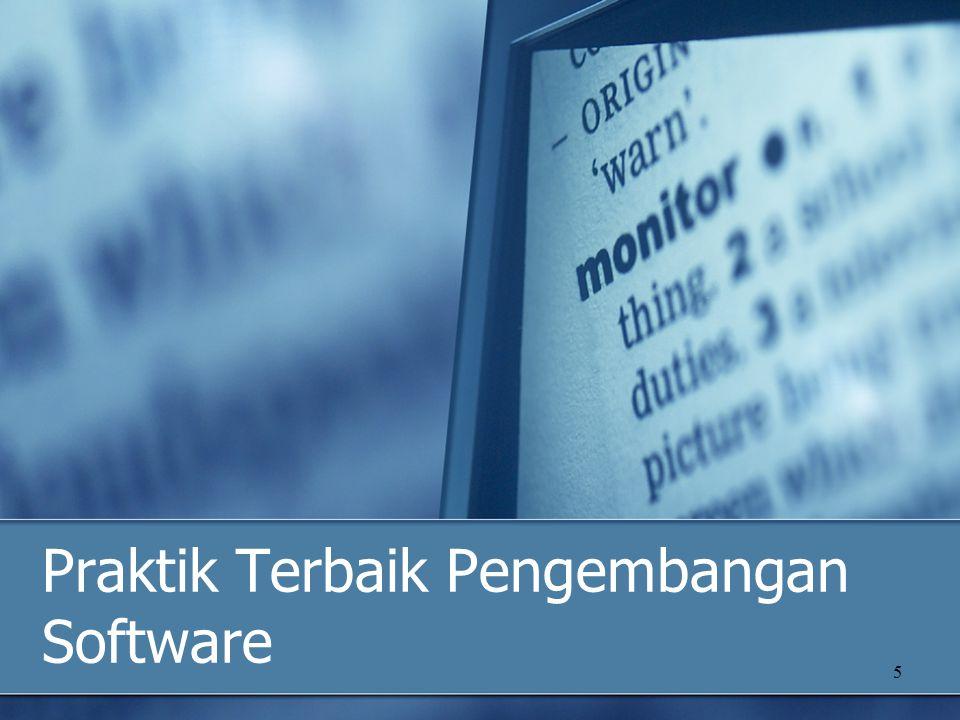 6 Praktik Pengembangan Software Pengembangan iteratif.