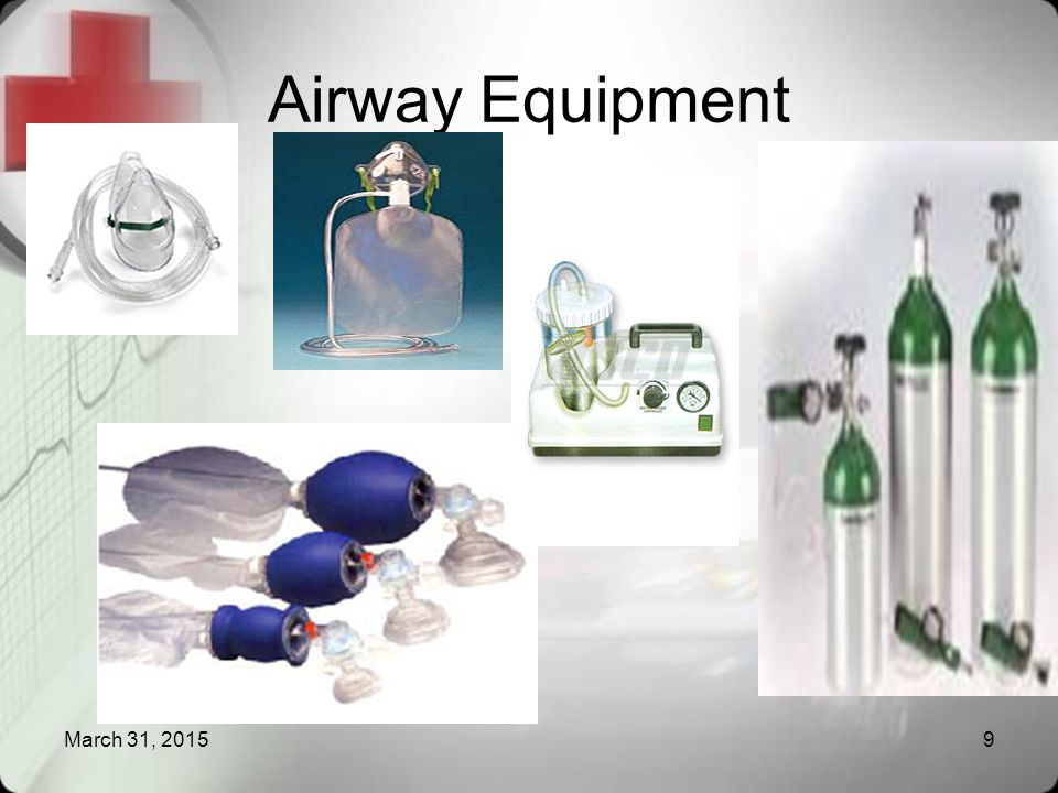 Airway Equipment March 31, 20159