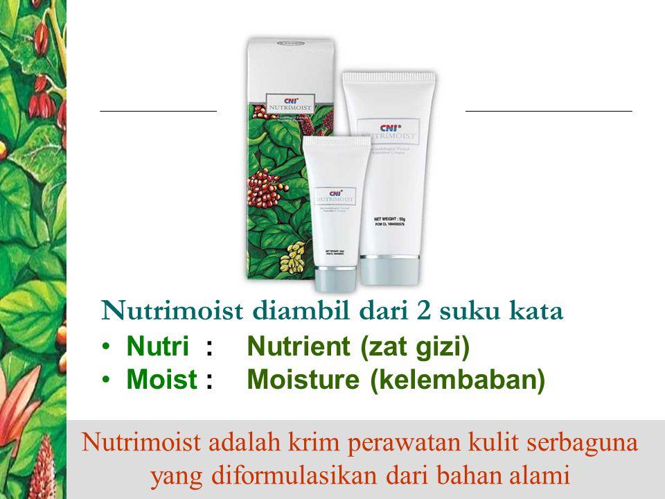  Khasiat Merawat & memulihkan kulit Memberi nutrisi yang diperlukan kulit Menjaga Kelembaban kulit Merawat kulit sekaligus membantu proses penyembuhan & regenerasi sel-sel kulit baru
