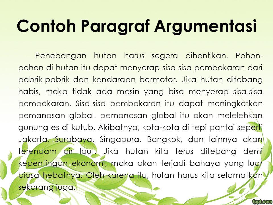 Mapel Bahasa Indonesia Paragraf Contoh Gambar Paragraf