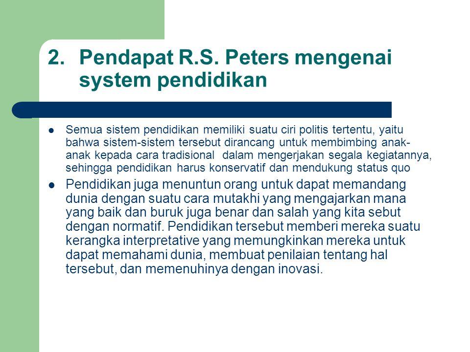 2.Pendapat R.S.