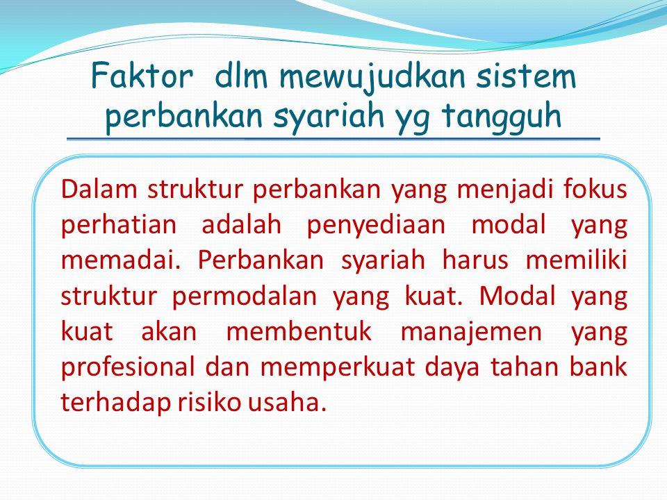 Dengan lahirnya instrumen-instrumen tersebut, diharapkan lembaga perbankan syari'ah di Indonesia dapat tumbuh berkembang dengan pesat dan berdiri sejajar dengan lembaga perbankan konvensional.