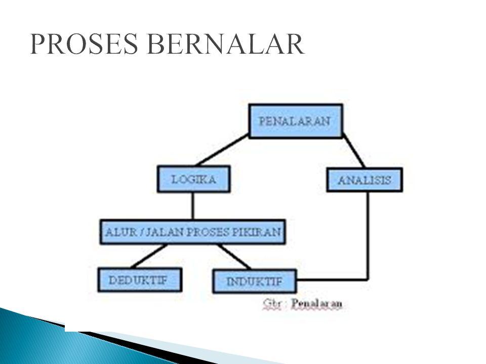 Proses reasoning dengan berdasarkan case law adalah cara berpikir induktif dan bahwa reasoing dengan menggunakan undang-undang adalah cara berpikir deduktif Dengan menggunakan case law konsep yang tercipta di dapat dari contoh-contoh yang tertentu.