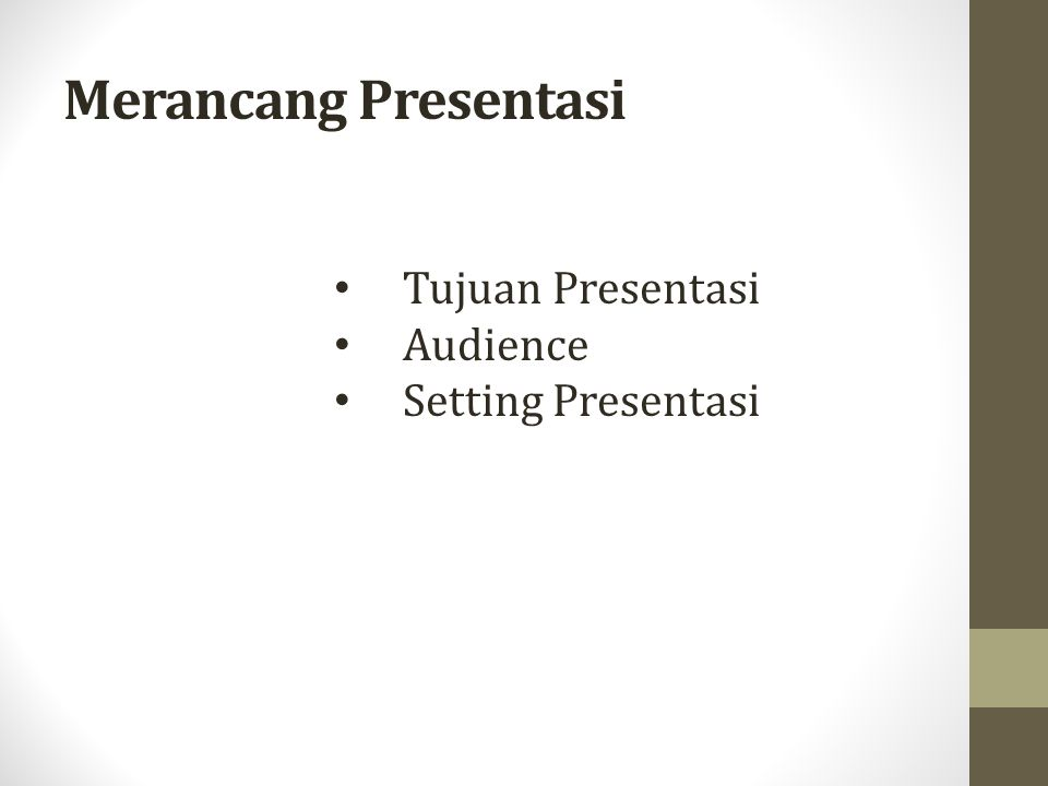 Organisasi Presentasi 1.Pendahuluan 2. Re-search / Studi Pustaka 3.