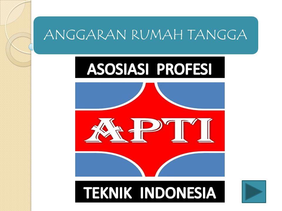 1.Susunan organisasi APTI secara keseluruhan adalah : a)Pendiri.