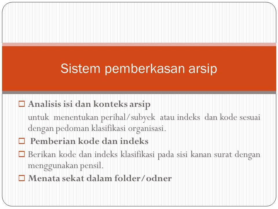 Contoh sekat