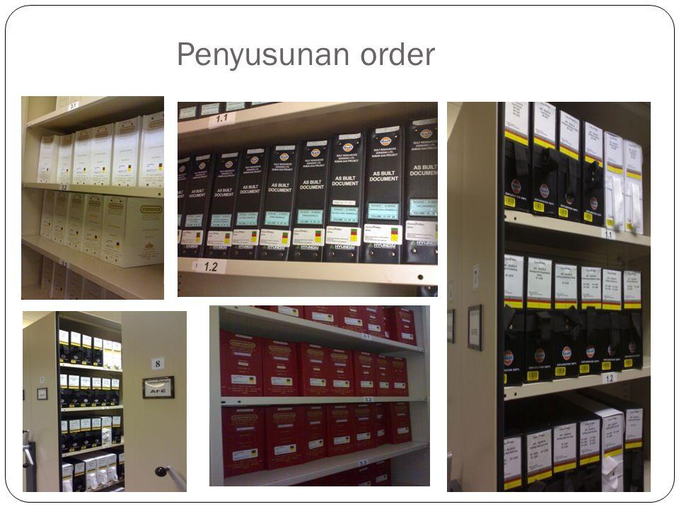 Penyusunan order
