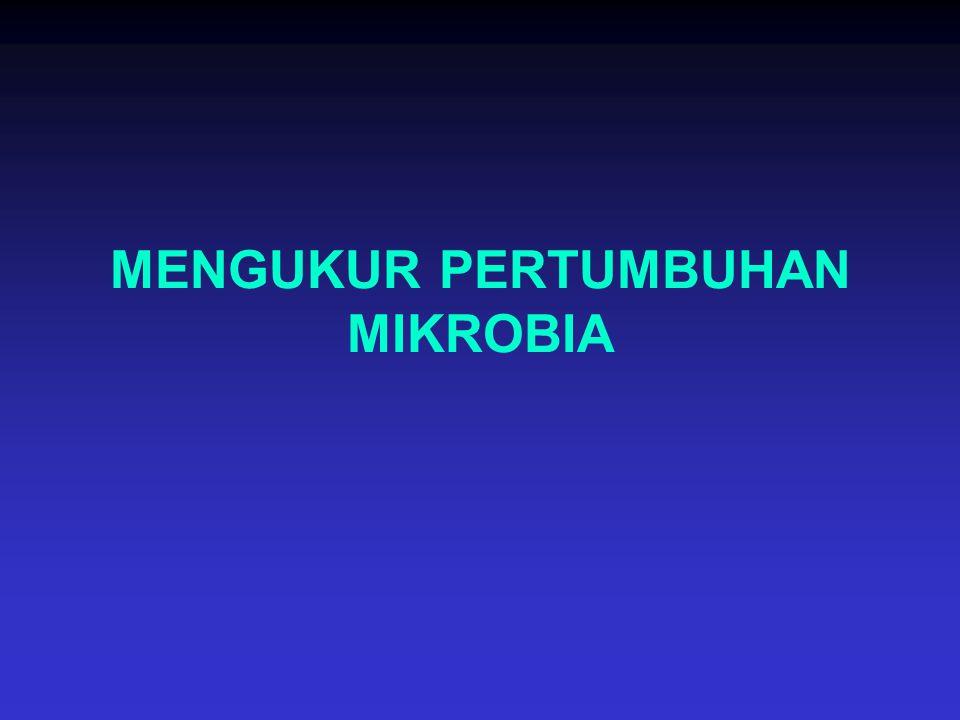 MENGUKUR PERTUMBUHAN MIKROBIA
