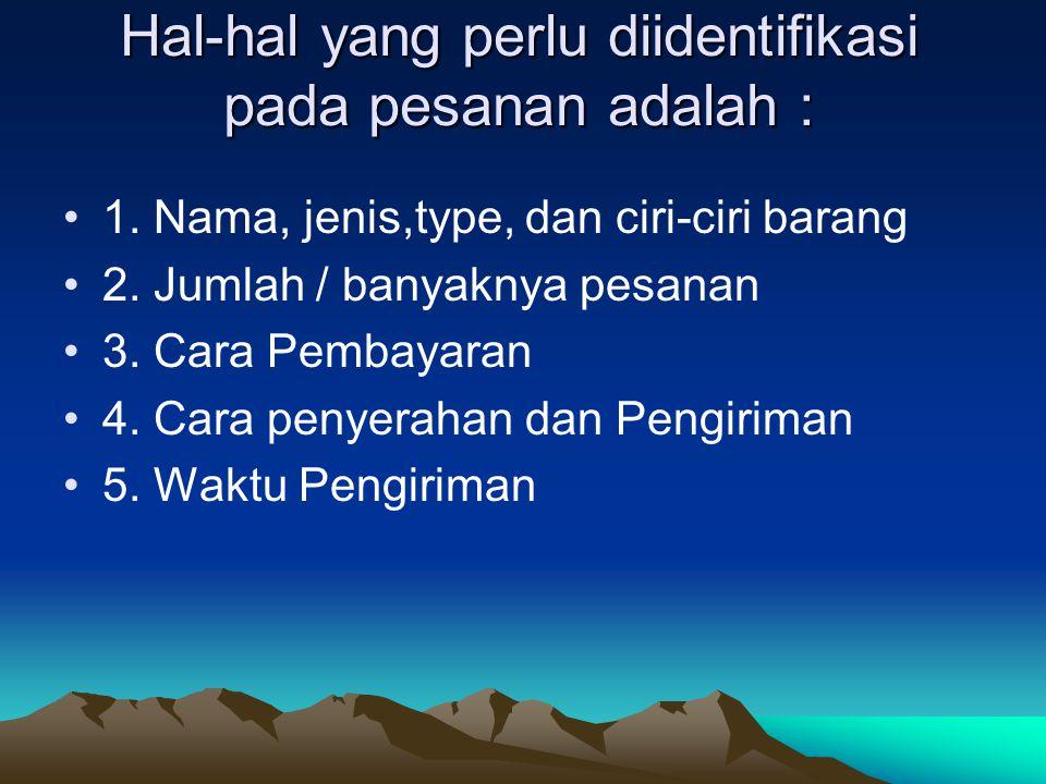 1.4 Syarat-syarat Pembayran ( Term Of Payment ) 1.