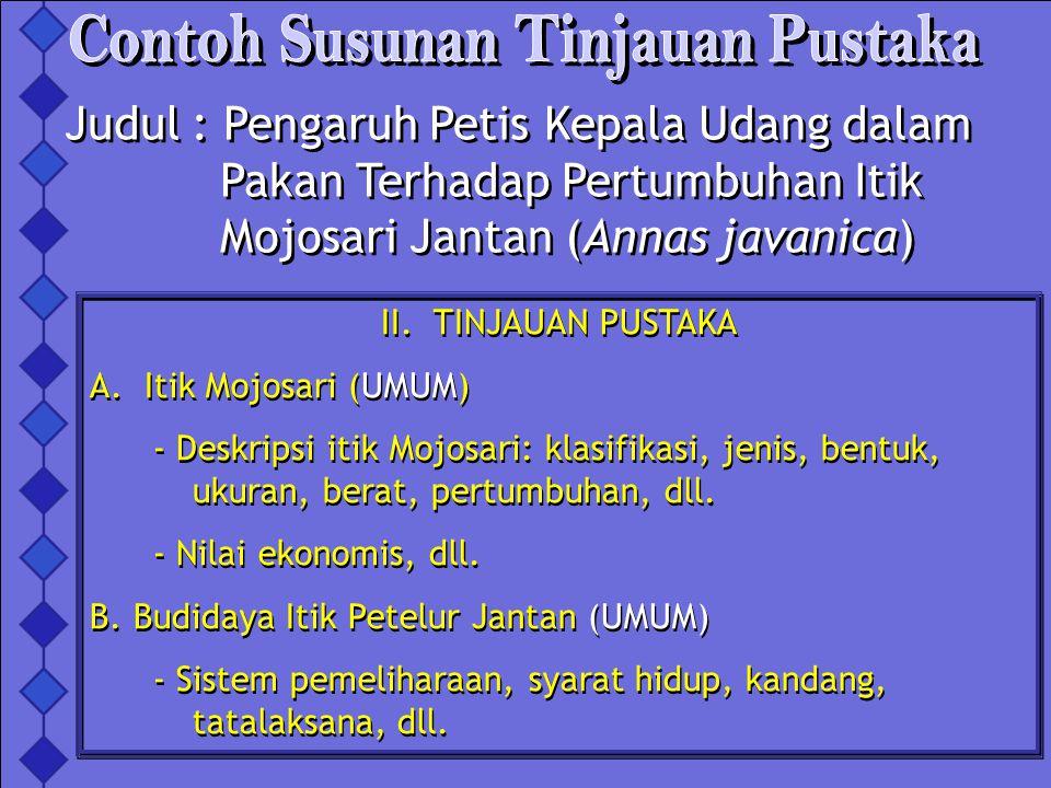 C.Pola Pertumbuhan itik Jantan (UMUM) - Dewasa kelamin, dewasa tubuh, pertumbuhan, dll.
