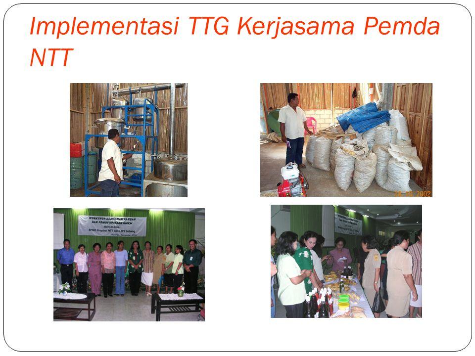 Implementasi TTG Kerjasama Pemda Atambua, NTT Instalasi Sarana Air Bersih