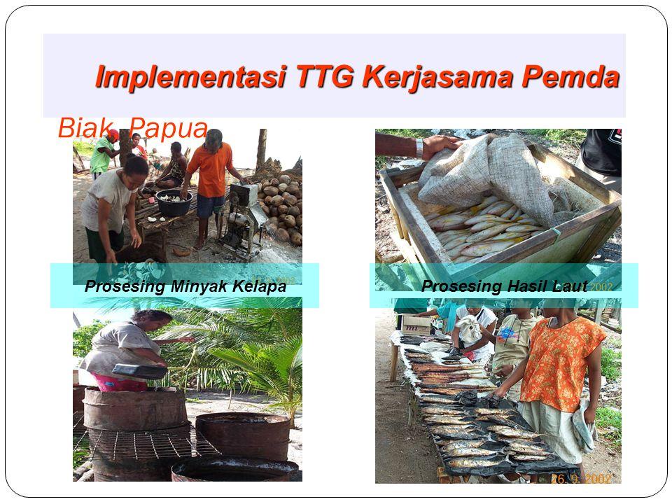 Selayar, Sulawesi Selatan Pelatihan Fermikel Perbaikan Olahan Ikan Laut