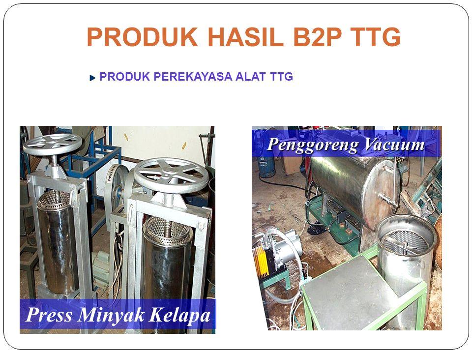 Implementasi TTG Kerjasama Pemda Prosesing Minyak KelapaProsesing Hasil Laut Biak, Papua