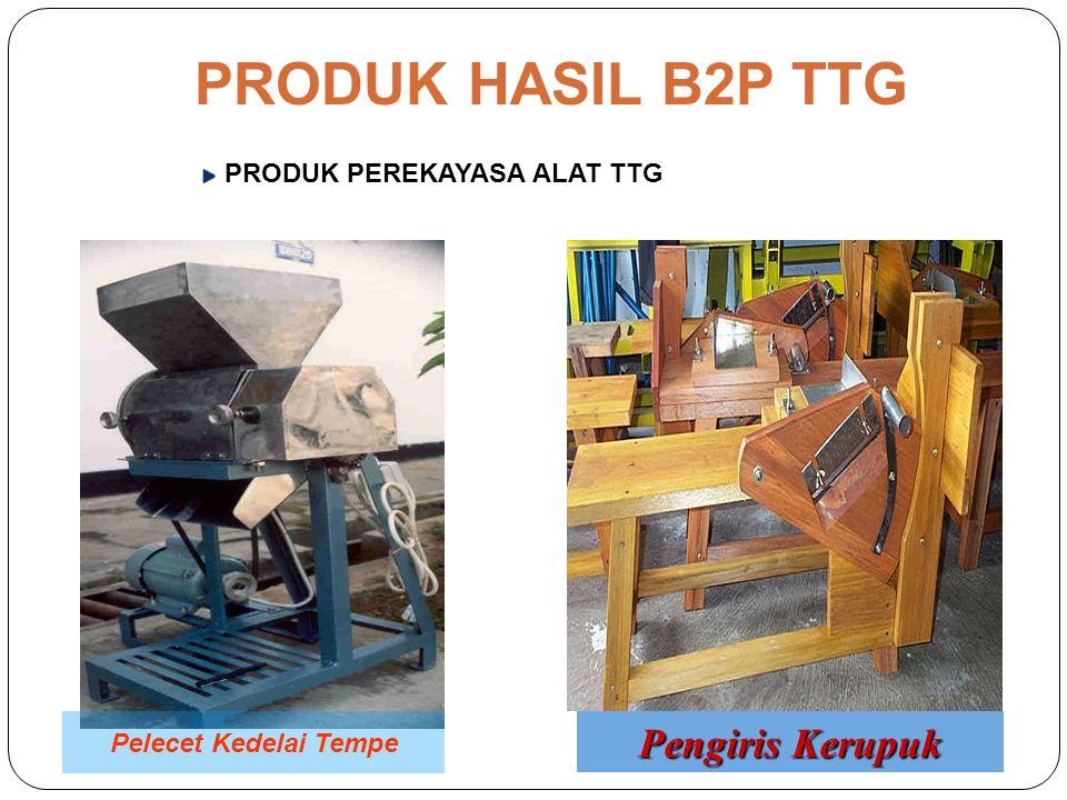 PRODUK HASIL B2P TTG PRODUK PEREKAYASA ALAT TTG Mixer Selai Nanas Pengiris Ubi kayu/pisang