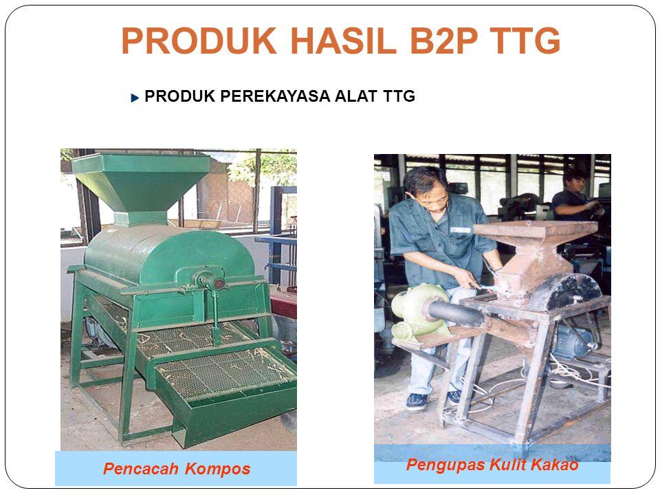 PRODUK HASIL B2P TTG PRODUK PEREKAYASA ALAT TTG Mesin Penepung Disk Mill Pengupas Biji Kemiri