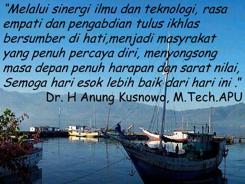 BALAI BESAR PENGEMBANGAN TEKNOLOGI TEPAT GUNA LEMBAGA ILMU PENGETAHUAN INDONESIA Jln.