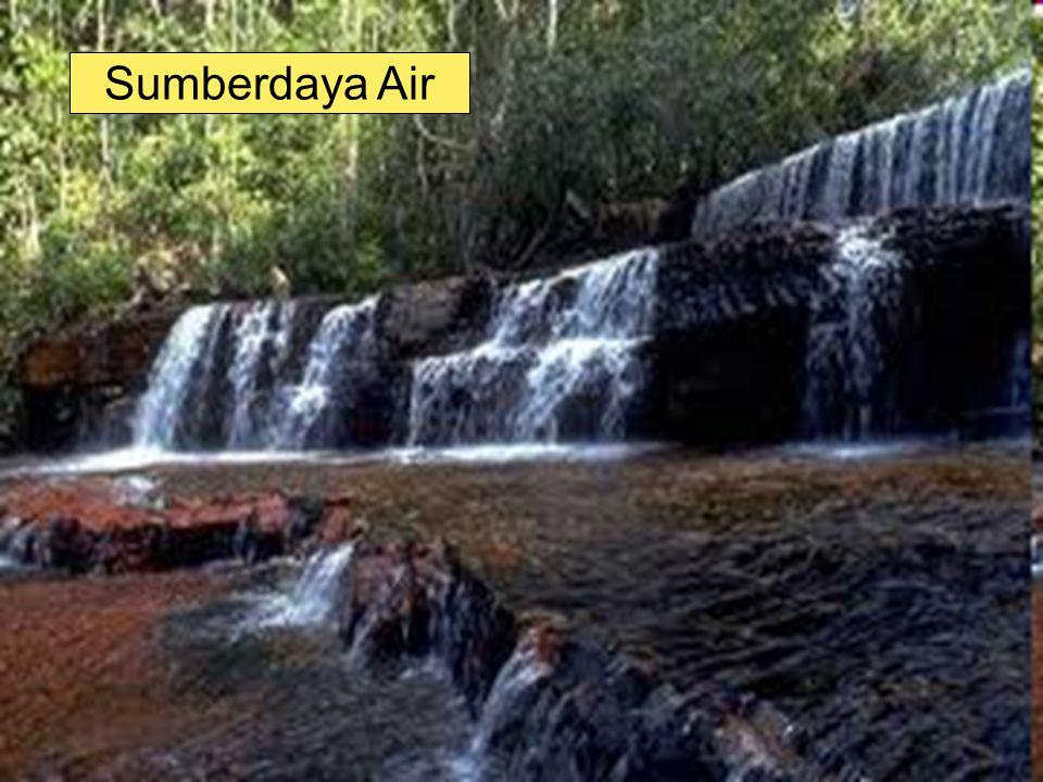 72 2.Menegakkan ketentuan hukum bagi pelanggar pengguna air 3.Meningkatkan peranserta masyarakat untuk melakukan konservasi air melalui pendidikan & pemberian insentif & disinsentif para pengguna air