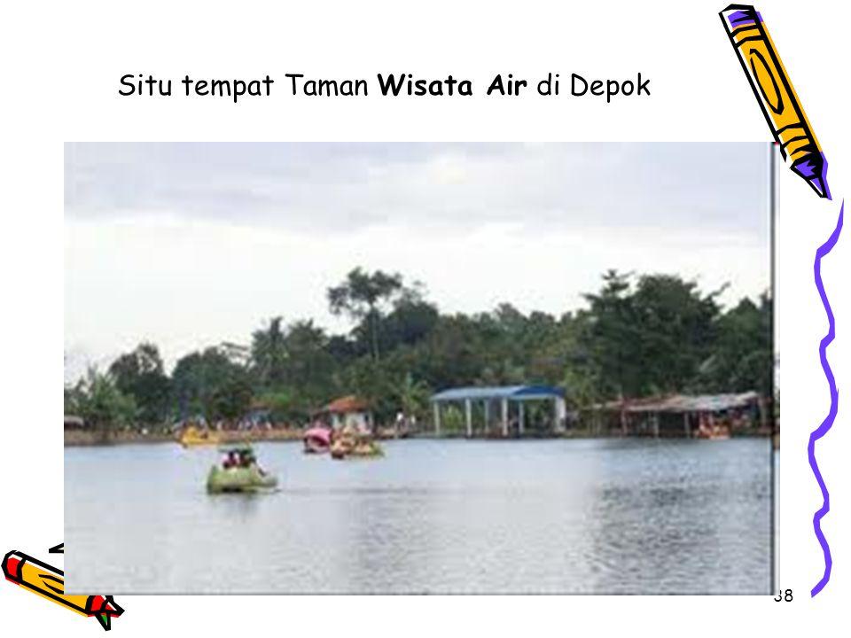 38 Situ tempat Taman Wisata Air di Depok