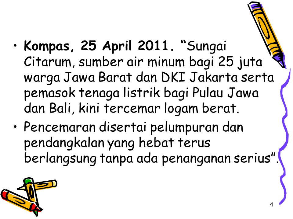 4 Kompas, 25 April 2011.