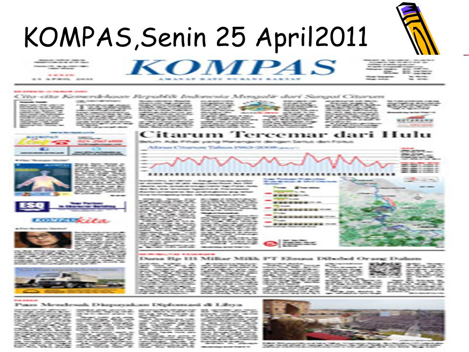 5 KOMPAS,Senin 25 April2011