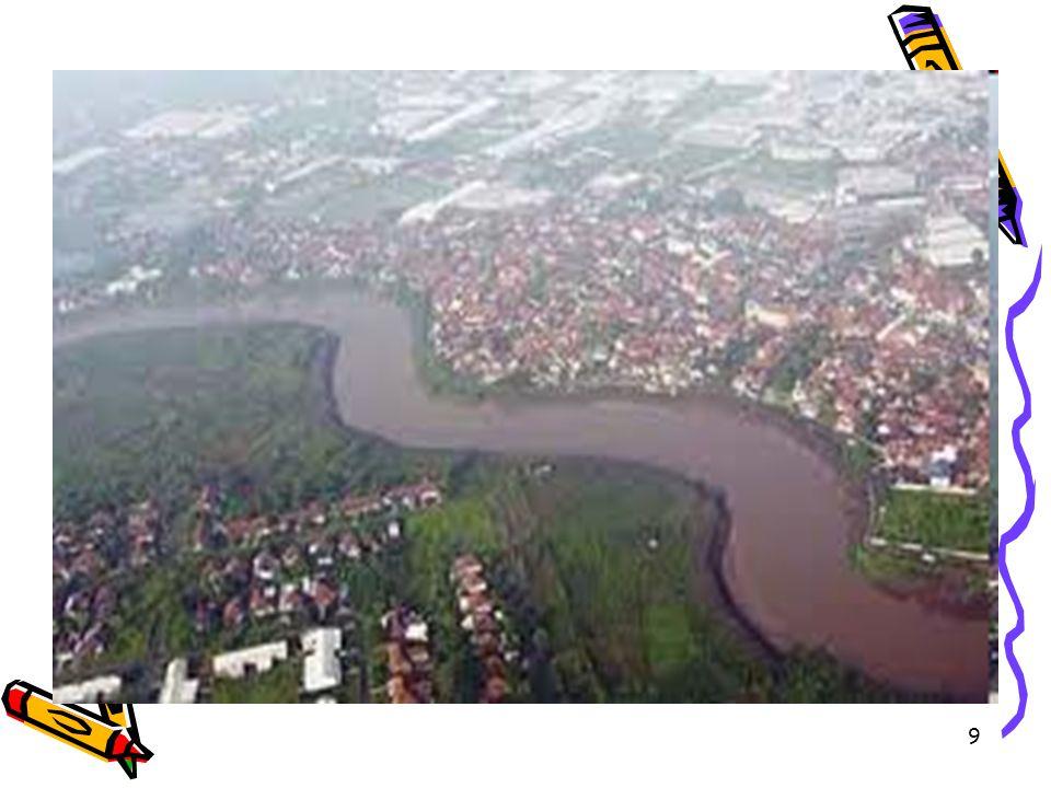 40 MASALAH POKOK DALAM PENGELOLAN SUMBER DAYA AIR Fluktuasi debit pada musim kemarau & musim hujan Kerusakan lahan di daerah tangkapn air Erosi & sedimentasi