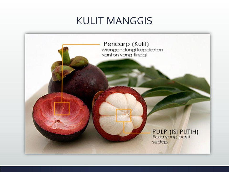 Manggis (Garcinia mangostana L) merupakan salah satu buah eksotik daerah tropis, buah manggis mendapat julukan queen of fruits yaitu ratunya buah tropis.